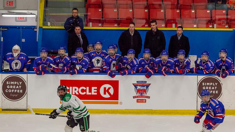 December 26,2018 - Calgary,AB. Mac's AAA Midget Hockey Tournament.