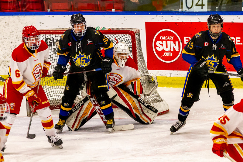 December 29, 2018 - Calgary, AB - Game 39 - Brampton 45s and the Calgary Flames.