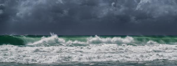 Fierce waves