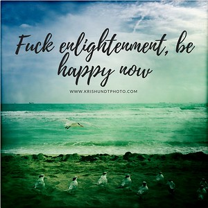 Fuck enlightenment