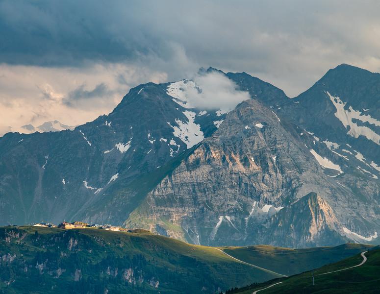 Zillertal Ridge Landscape