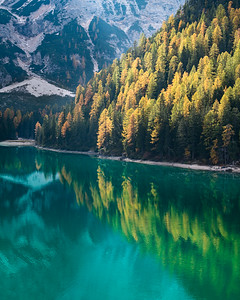 Light of Lago de Braies