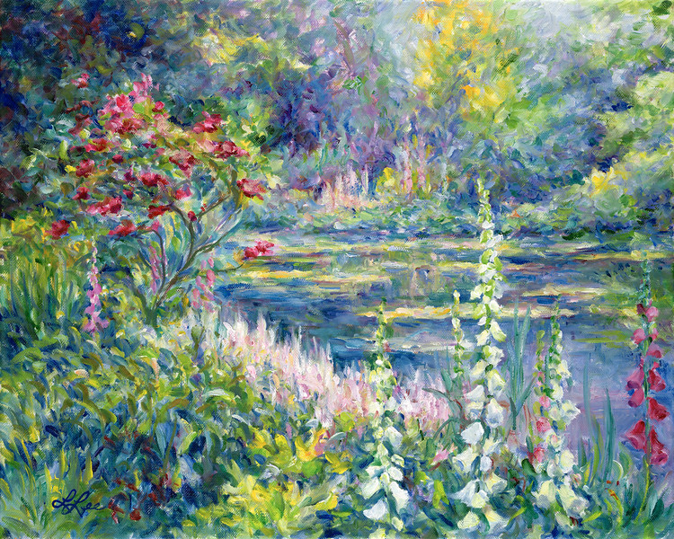 Giverny Floxglove 5x7 (1 Available)