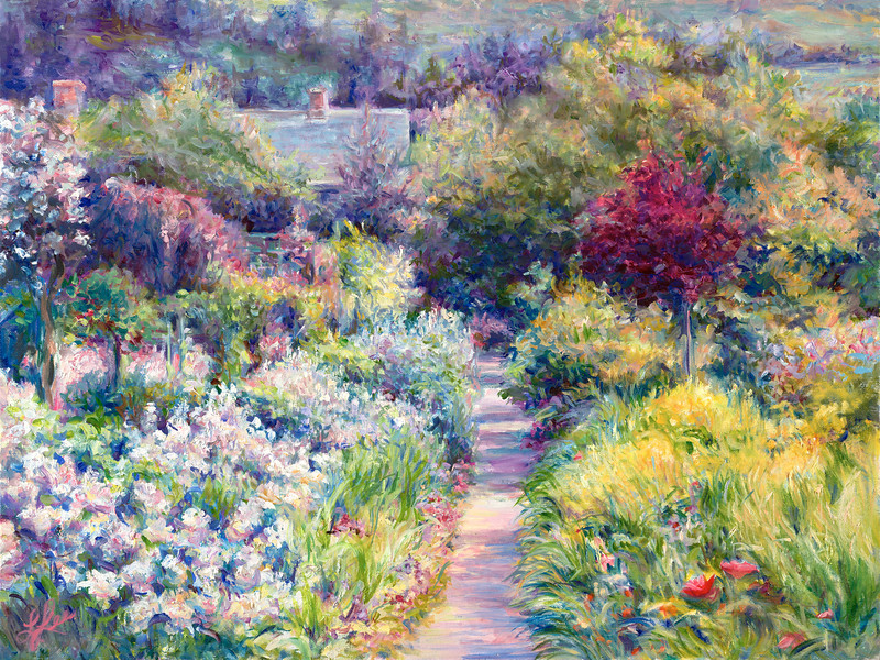 Spring Color at Giverny