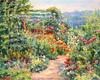 Poppy Path - Monet's Garden