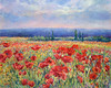 Poppy Field by Arles 5x7 (2 available)