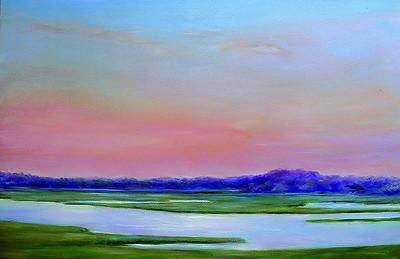 Centerville River at Sunset