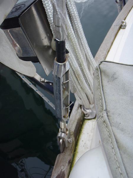 starboard backstay chainplate