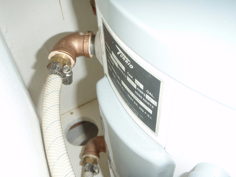 more hot water tank