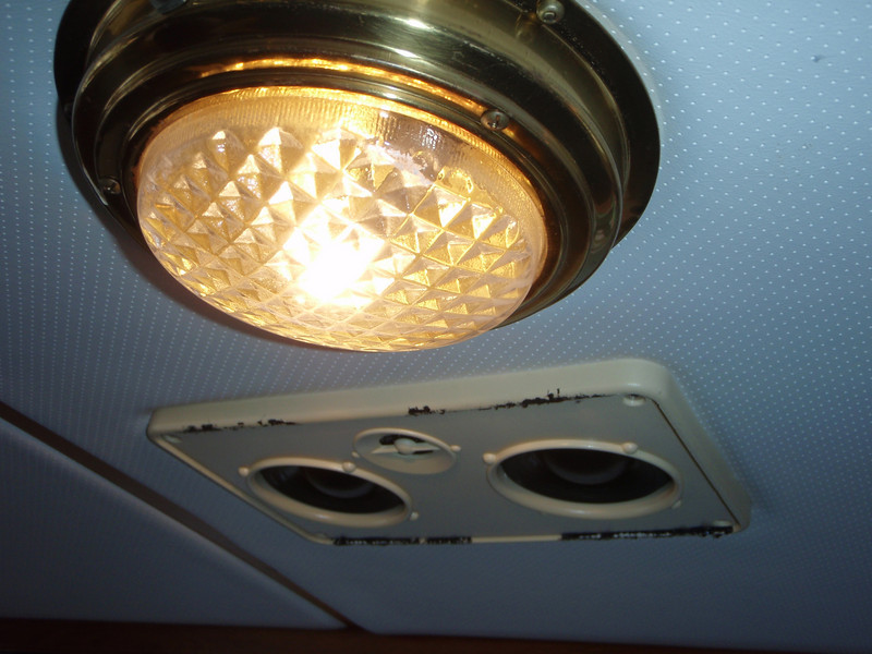 other speaker in salon ceiling