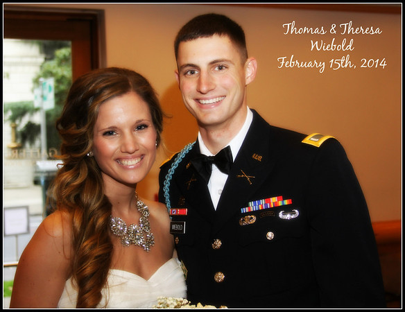FEBRUARY 15TH, 2014: TOMMY AND THERESA WIEBOLD
