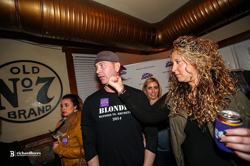 Blonde vs Brunette Draft Party 2015