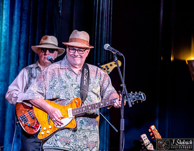 Duke Robillard at My Fathers Place with Arlen Roth  7/28/18