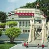 Cavenagh Bridge - Singapore   Legoland   July 2016