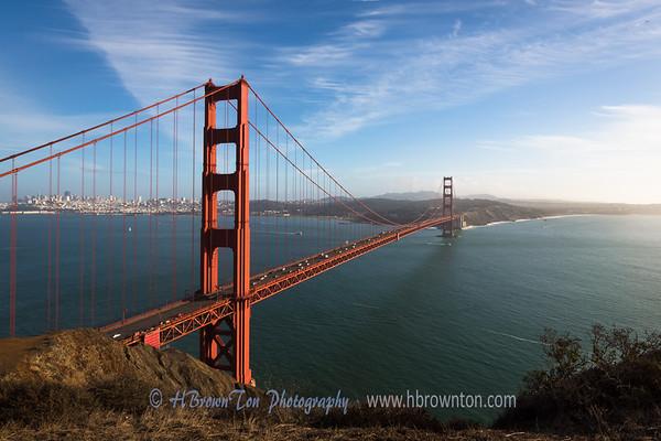 Classic Golden Gate Bridge Vista