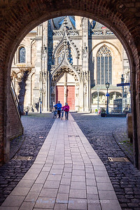 Archway to Xanten Cathedral