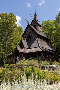 Washington Island Stavkirke (Stave Church)