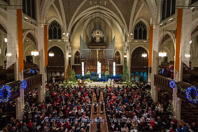 Christmas Eve Candlelight Service at Central Lutheran Church Minneapolis