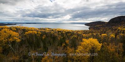Overlooking Wauswaugoning Bay, Lake Superior