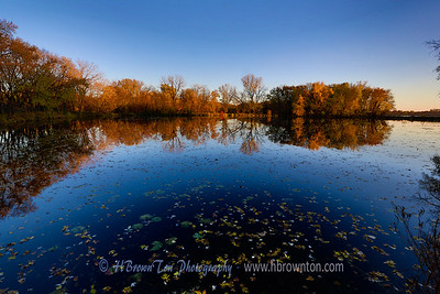 Snelling Lake Autumn Reflections