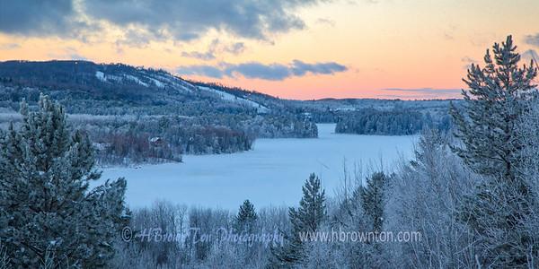 Day's End on Wynne Lake