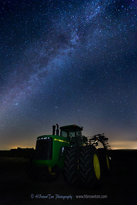 Starry Starry Night on the Farm