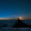 Moon Over Little Tahoma