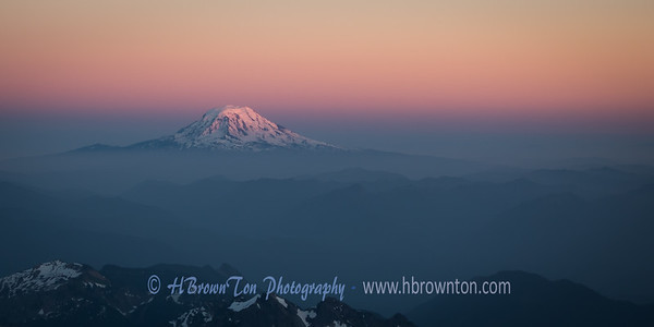 Mt. Adams at Dusk