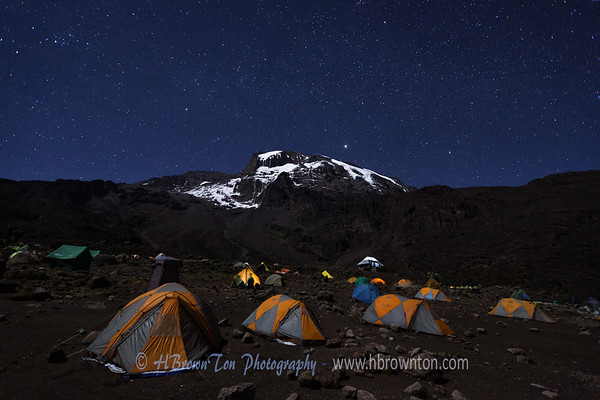 Mt. Kilimanjaro Starry Starry Night