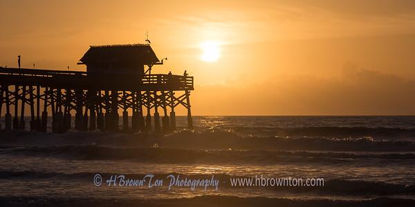 Sunrise over Cocoa Beach -- Florida, USA