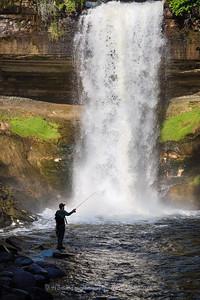 Fishing the Falls