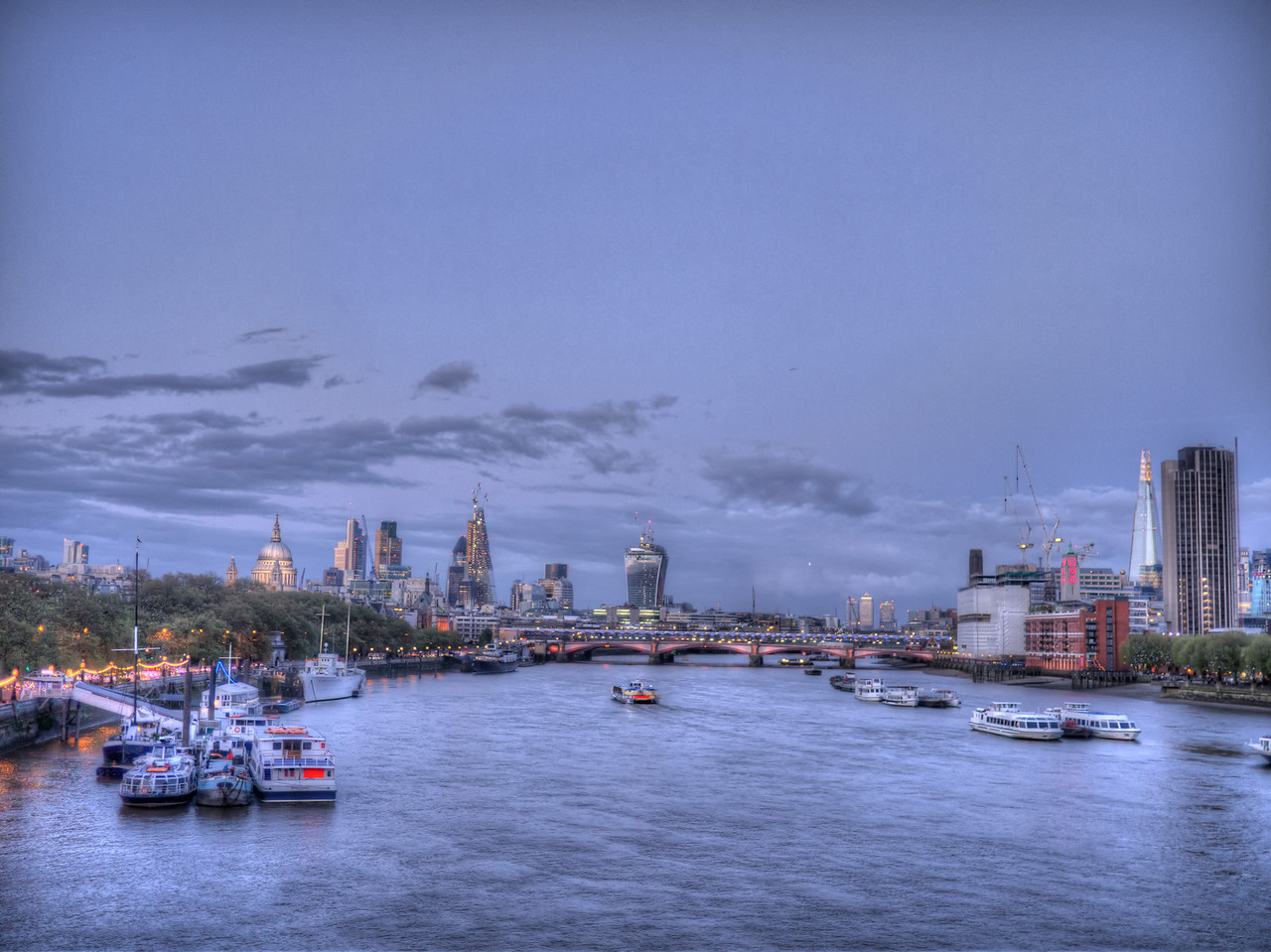 London and the Thames