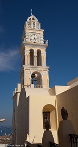 Thira - clock tower