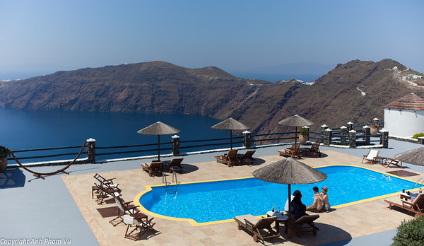 Caldera's Memories Hotel - View on Oia