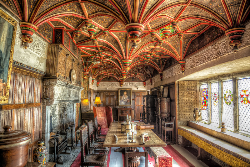 Inside Bunratty Castle