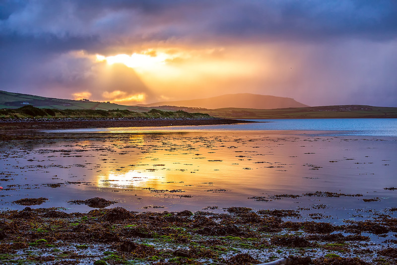 Sunrise at Dingle Bay