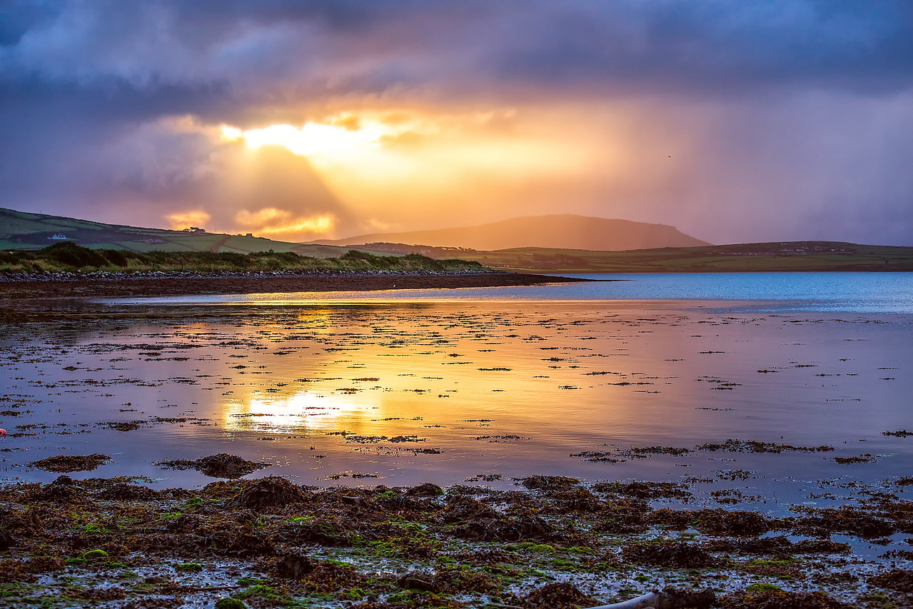 Sunrise at Dingle Bay