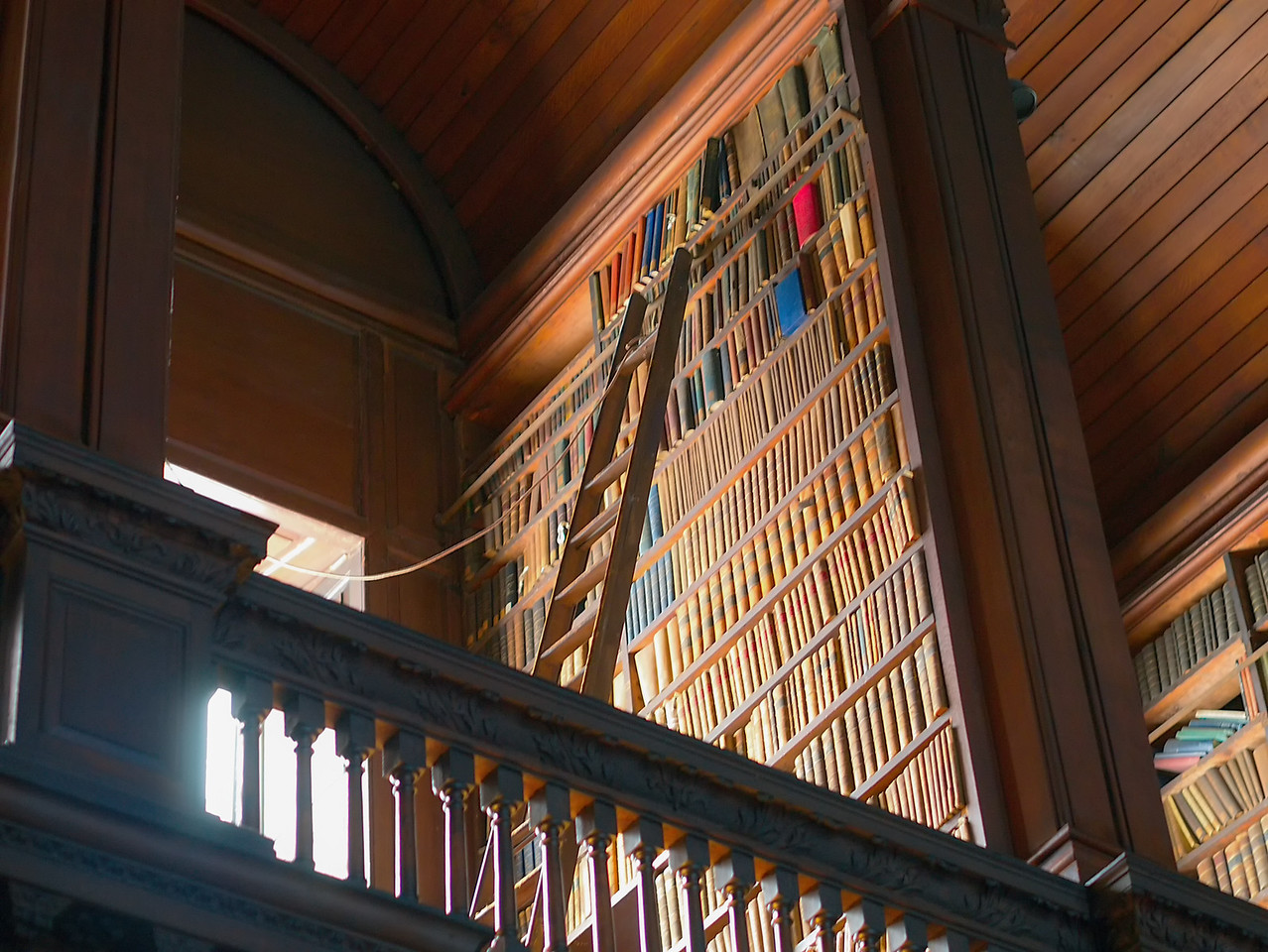 Inside the Library at Trinity College