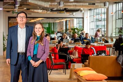Anh Pham Vu and Christine Telyer of Ueni Ltd in London