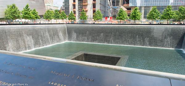 Ground Zero - Memorial Fountain
