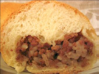 Пирожки печеные сдобные с мясом 13