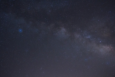 Milky Way - Altair to Sagittarius, 20mm at f/4, iso 1600, single frame with curves, tint.