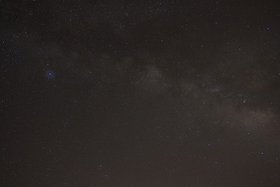 Milky Way - Altair to Sagittarius, 20mm at f/4, iso 1600, single unprocessed frame