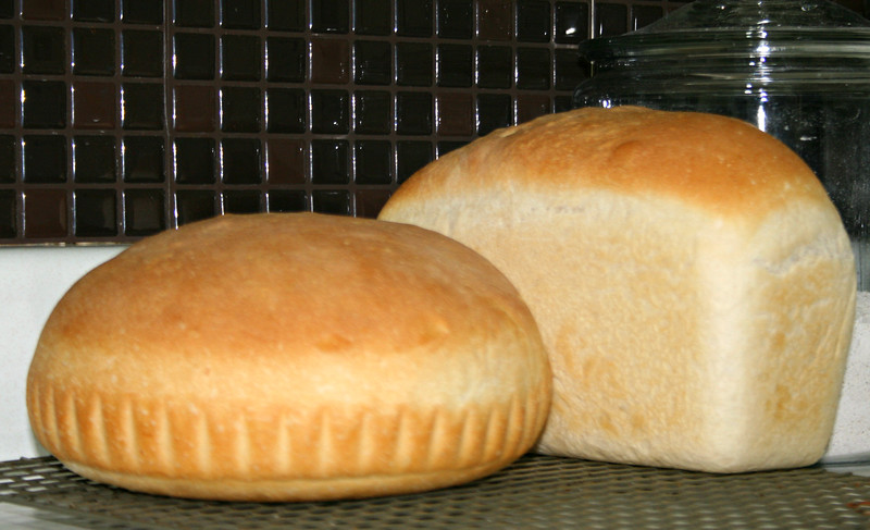 Пшеничный хлеб 1988г. Опара из сильной муки.