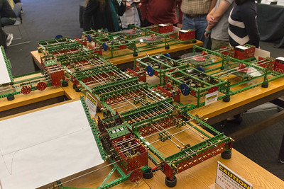 "Difference Engine built from Meccano ('Erector Set"")"