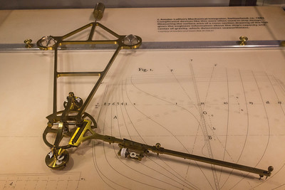 A mechanical integrator used in ship hull design