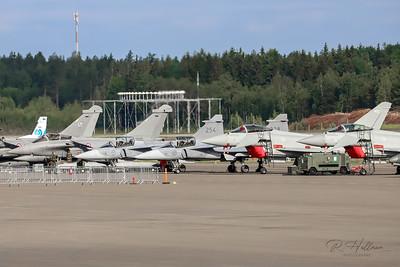 Rafale/Eurofighter/JAS 39 Gripen