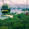 Cable Cars over Sentosa