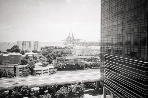 View from American Express office