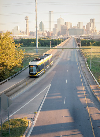 DART Tram and Dallas